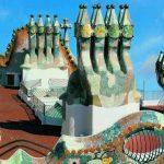 Terraza de la Casa Batlló en Barcelona