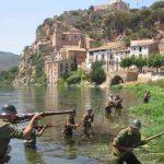 Recreación de la Batalla del Ebro en las Tierras del Ebro (Miravet)