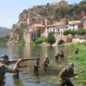 Ruta de la batalla del Ebro