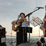 Cantada de Habaneras, en el Mar, en Calella