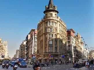 Carrer Pelai en Barcelona