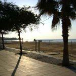 Playa de Coma-ruga en la Costa Daurada