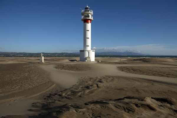Playa del Fangar, Faro