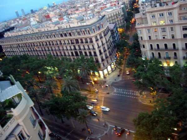 Avinguda Diagonal en Barcelona