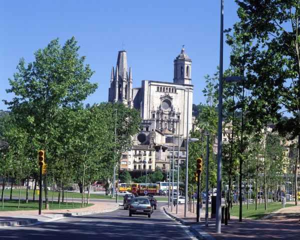 Catedral de Girona. Ruta del centro histórico