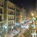 Carrer Gran de Gràcia en Barcelona