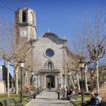 Iglesia de Malgrat de Mar en la Costa del Maresme
