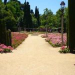 Jardins del Teatre Grec en Barcelona