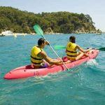 Actividades acuáticas en Lloret de Mar, Costa Brava