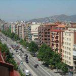 Avenida Meridiana en Barcelona