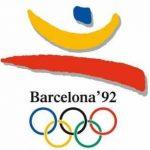 Logo oficial de las Olimpiadas de Barcelona 92