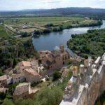 Río Ebro al su paso por Miravet