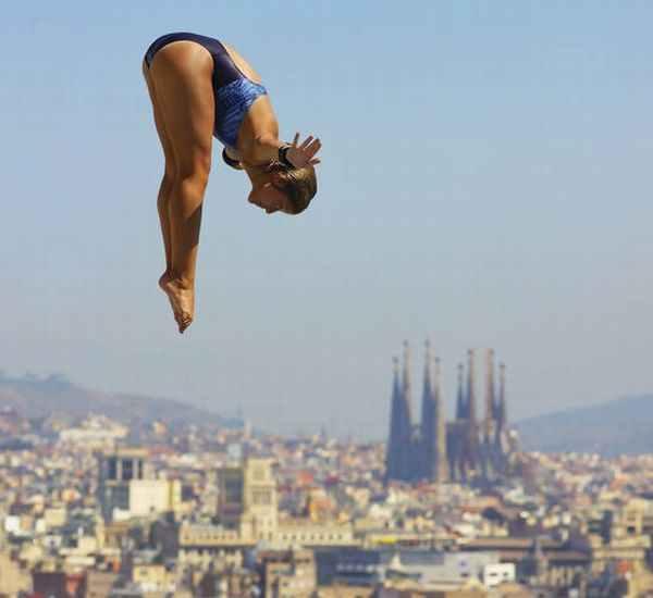 Piscinas Picornell en Barcelona