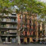 Plaça de la Virreina en Barcelona