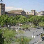 Plaça Universitat en Barcelona