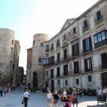 Plaça de la Catedral en Barcelona