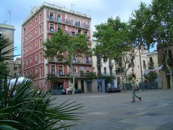 Plaça del Diamant en Barcelona