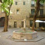 Plaça Felip Neri en Barcelona