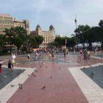 Plaça de Catalunya en Barcelona