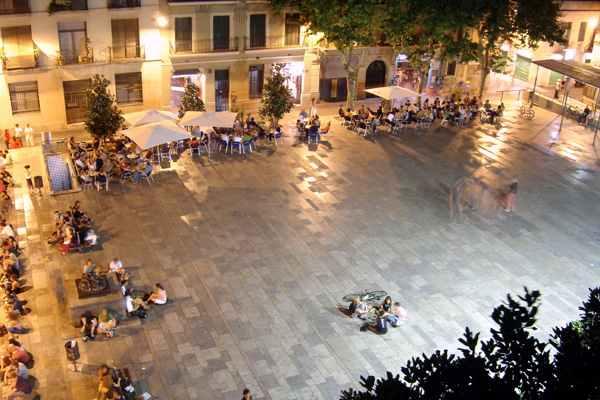 Plaça del Sol en Barcelona