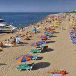 Playa de Llevant en Santa Susanna