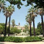 Jardines del Palau de les Heures en Barcelona