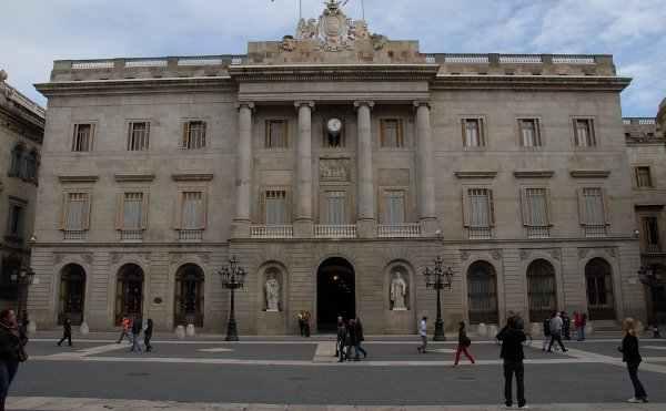 Ajuntament de Barcelona en Plaça Sant Jaume