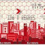 Billete Renfe en Barcelona
