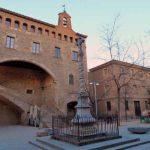 Hospital Santa Creu de Barcelona en el Raval