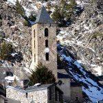Iglesia románica en Canillo