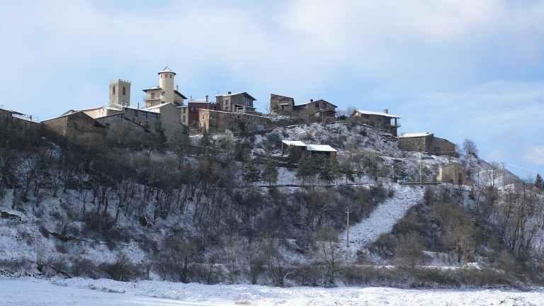 Montferrer i Castellbò nevado