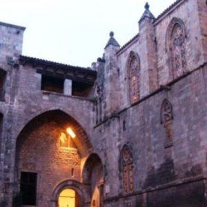 Edificis medievals a Barcelona