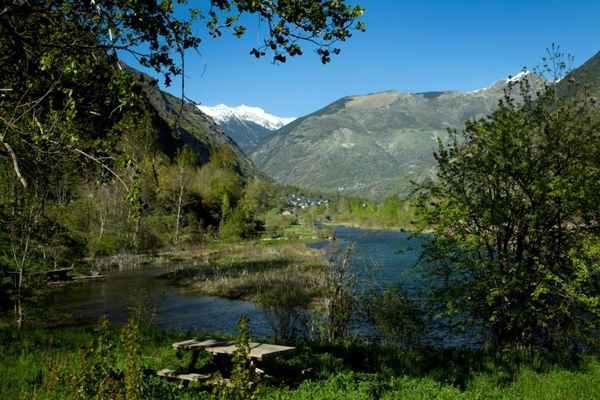 Presa i Barruera en la Vall de Boí