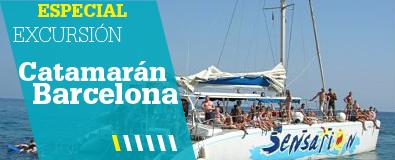 Excursiones en Catamarán por Barcelona