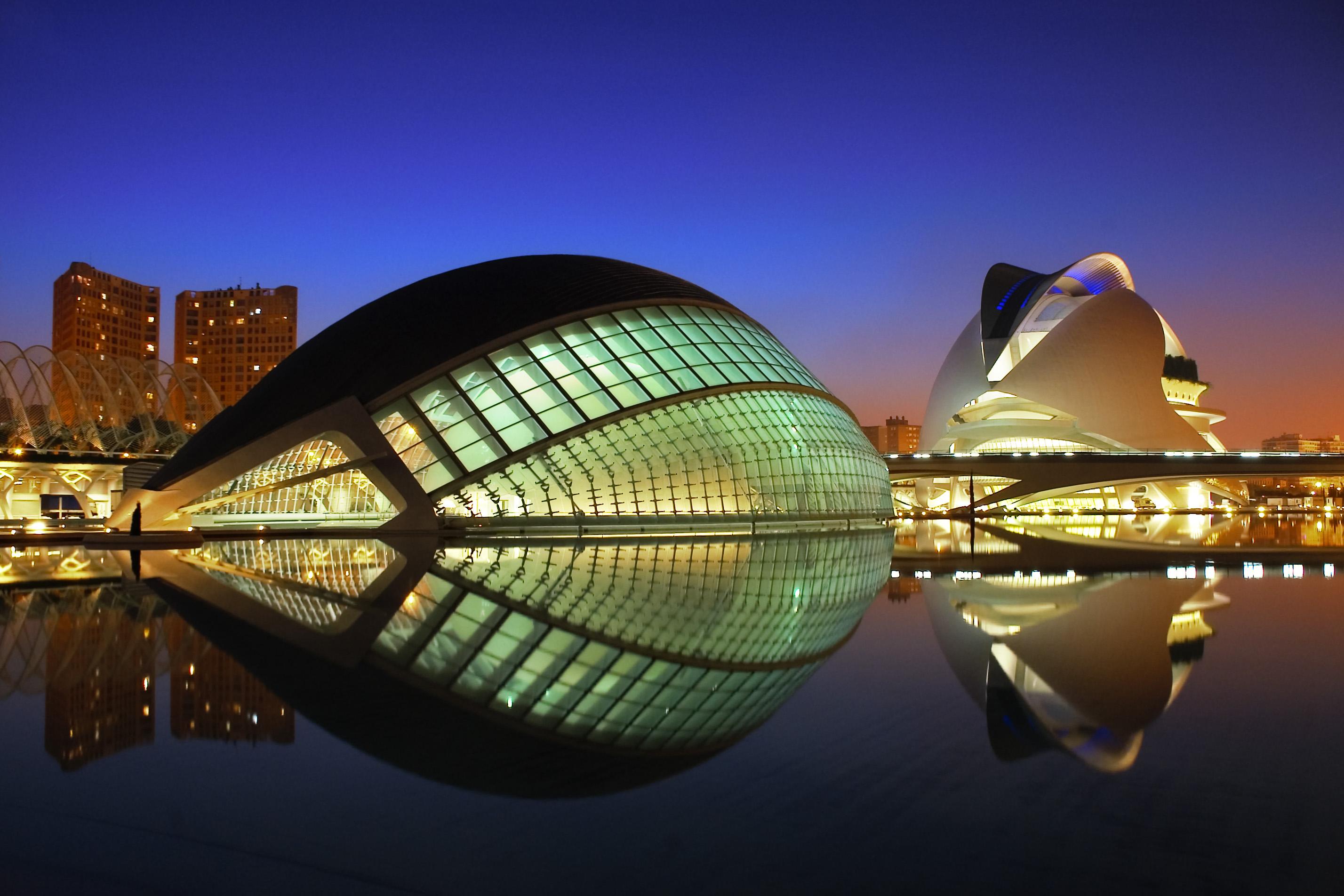 Resultado de imagen de Ciutat de les Arts i les Ciències de València