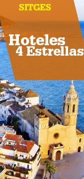 Hoteles 4 estrellas en Sitges