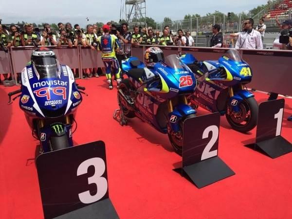 Clasificación Moto GP 2015, Circuit de Barcelona-Catalunya