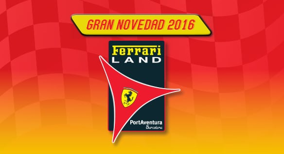 Construcción FerrariLand PortAventura