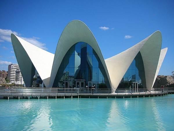 El Oceanogràfic de Valencia, Ciudad de las Artes y las Ciencias