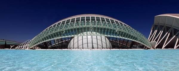 El hemisfèric de Valencia, Ciudad de las Artes y las Ciencias