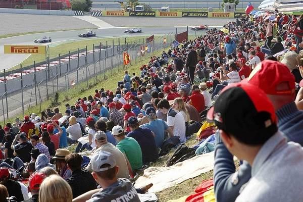 Ambiente en Pelouse - Fórmula 1 Circuit de Catalunya