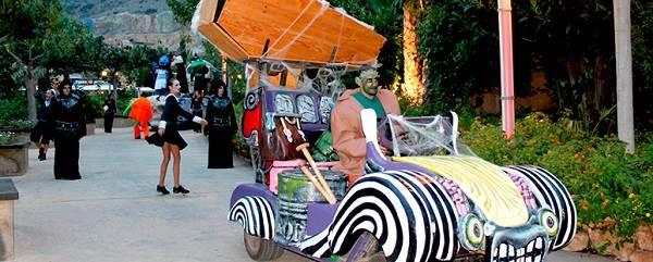 Aquelarre, espectáculos Halloween Terra Mítica