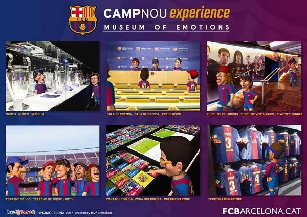 Museo del FCB y tour por el Camp Nou