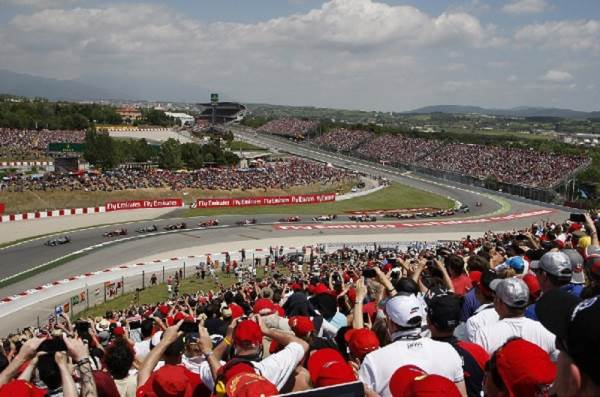 Pelouse - Fórmula 1 Circuit de Catalunya