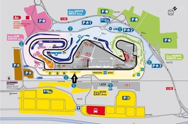 Tribuna J Fórmula 1 - Circuit de Catalunya