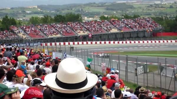 Vistas desde la Tribuna G Formula 1 - Circuit de Catalunya