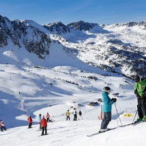 Caldea + Forfait esquí Grandvalira o Vallnord