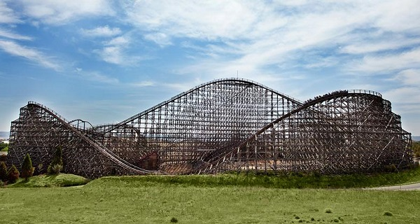 Coaster Express - Old West Territory - Parque Warner