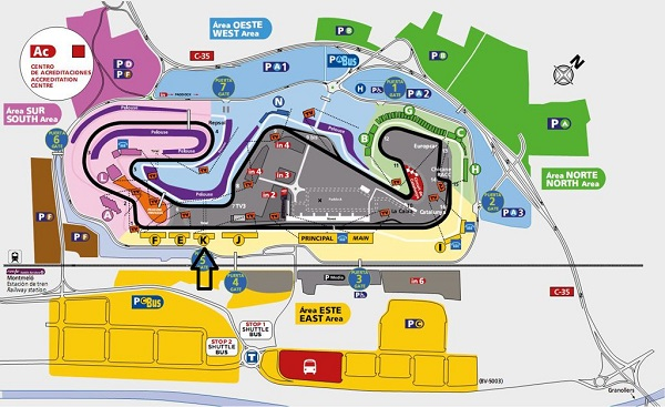 Tribuna K Fórmula 1 - Circuit de Catalunya