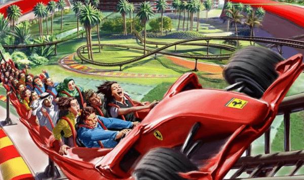 Cómo será FerrariLand